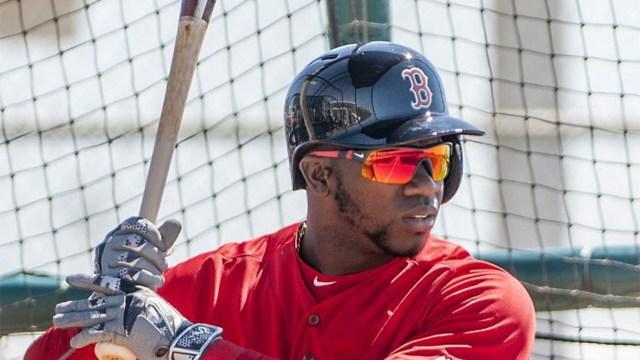 Rusney Castillo augura una temporada en salud con Boston