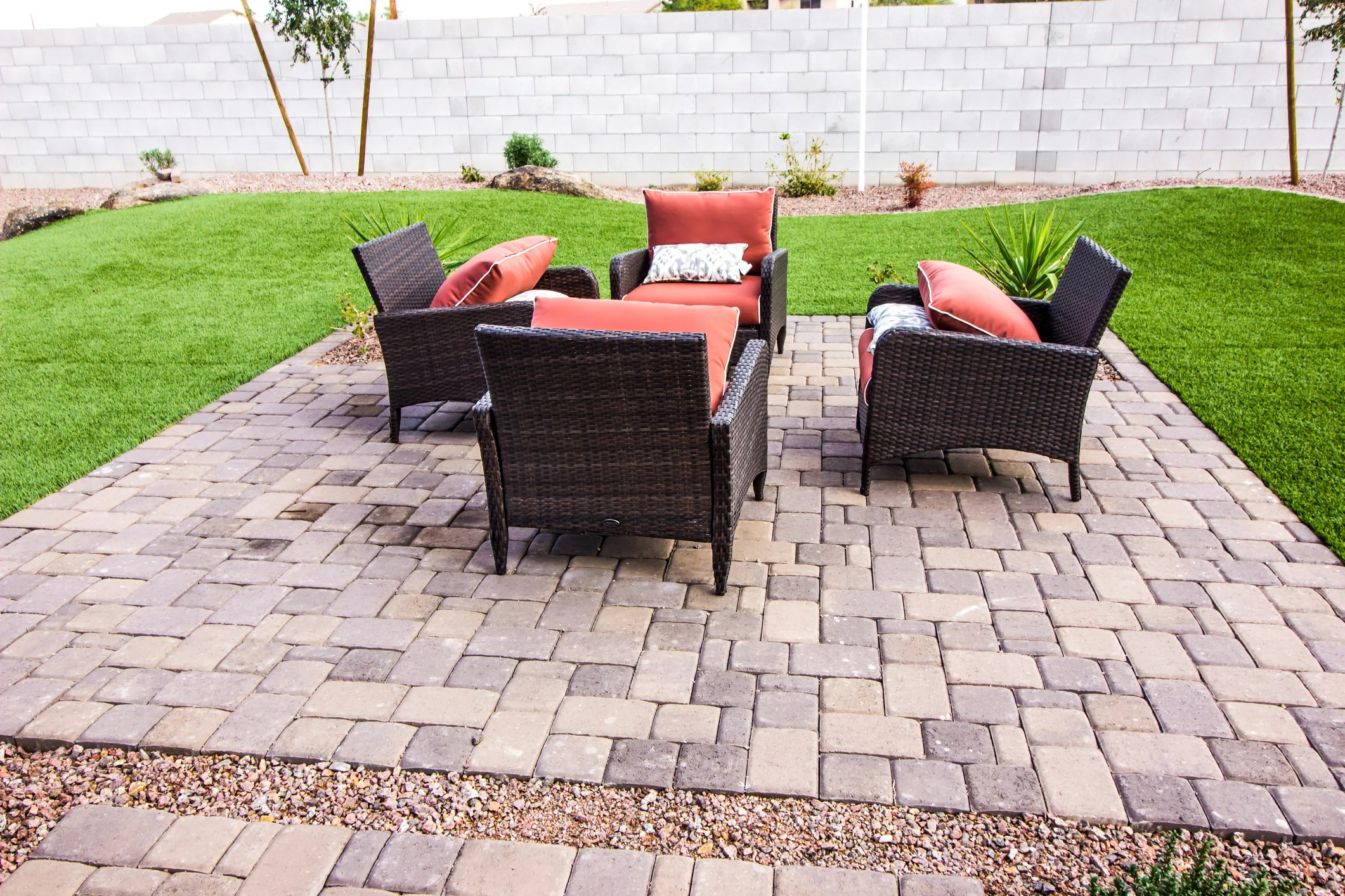 what s the best material for a patio