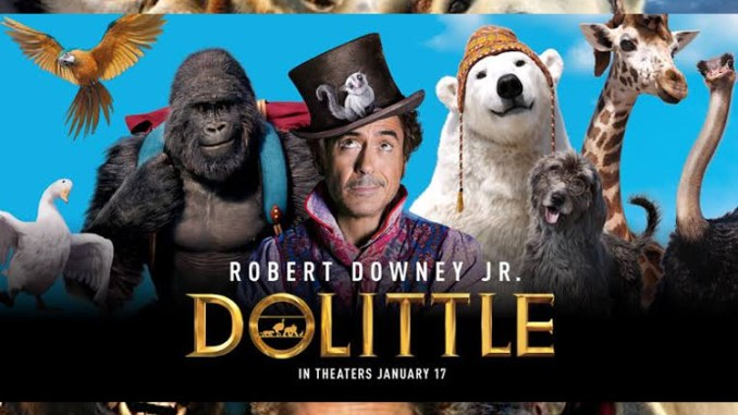 Dolittle (2020) [HDCAM] Mp4