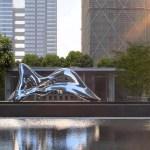 Grosse Moderne Abstrakte Skulpturen Im Freien Abstrakte Form Skulptur Fur Garten Dekoration