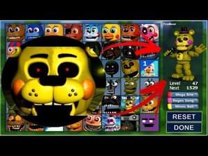 Golden Toy Freddy In Fnaf World Mod By Zbonniexd Game Jolt