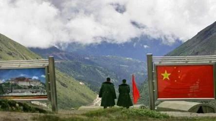 China,India,border