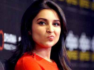 parineeti shares video of her in fake switzerland in green saree for yashraj films