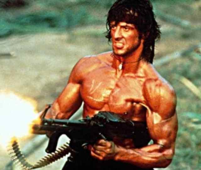 Sylvester Stallone Has Starred In Four Rambo Movies
