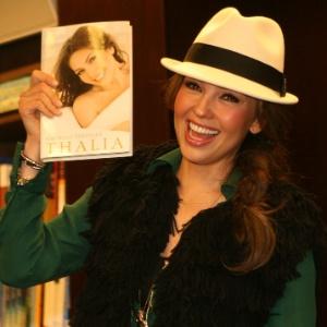 A cantora e atriz mexicana Thalia