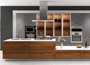 Dapur Modern Pantry Lemari Pemasok Dan Produsen Cina Pabrik Rebon
