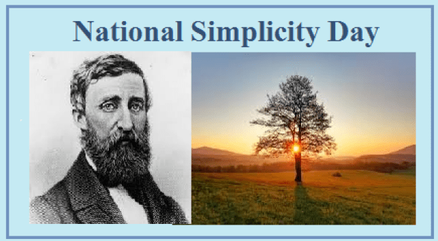 National Simplicity Day 2019: Significance and History