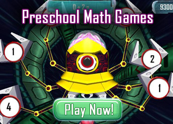 Preschool Math Games     Fun Math Games for Preschool     Math Blaster Math Games and Activities are Beneficial for Preschool Kids