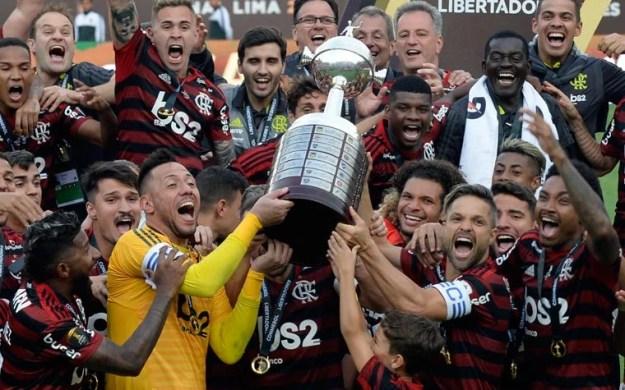 Flamengo x River Plate - Campeão