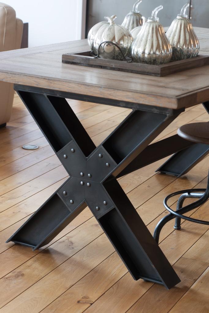 table repas pied x 160 cm