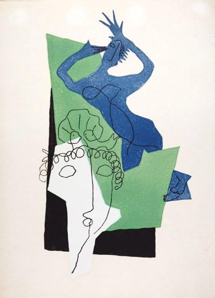 Henri Laurens, Λουκιανού, Διάλογοι, Παρίσι 1951