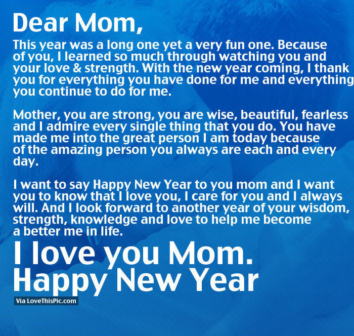 mom new year quotes