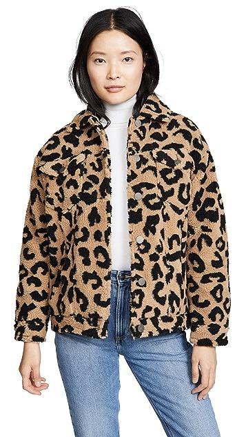 Apparis Tiarra Teddy Bear Jacket