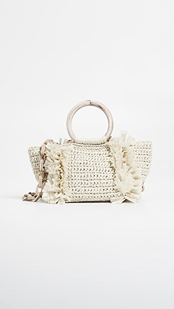 Carolina Santo Domingo Corallina Ring Tote