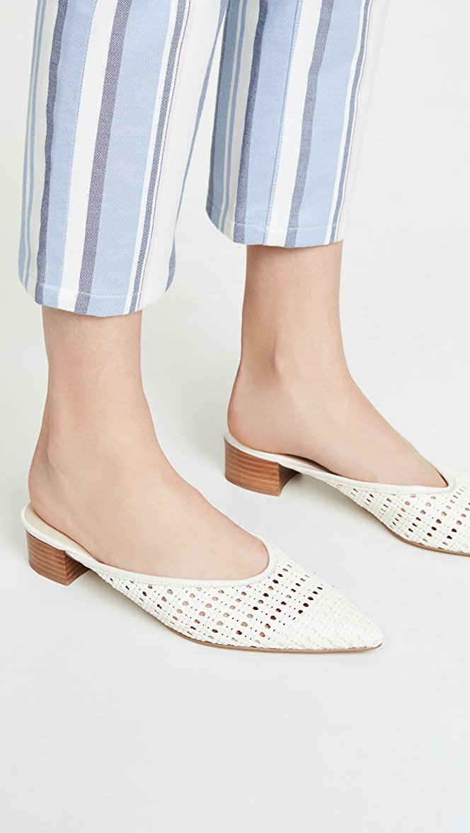 Cupcakes And Cashmere Leviana Woven Mules Shopbop