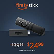Prime Members save $15 on Fire TV Stick