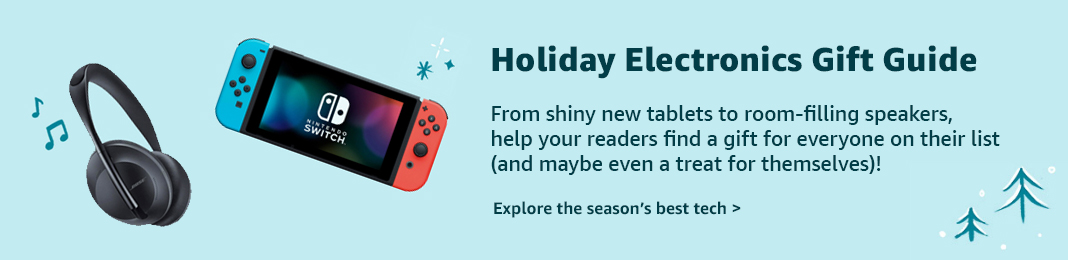 Holiday Electronics Gift Guide Amazong 2019