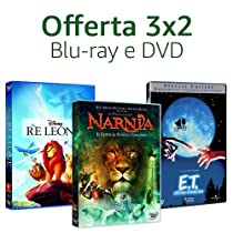 Offerta DVD e Blu-ray: 3x2