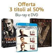 DVD e Blu-ray 3 titoli = -50%