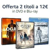 Offerta DVD e Blu-ray: 2 titoli = 12 EUR