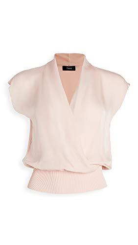21+J+aFVwqL. SL500 Shell: 100% silk Fabric: Lightweight, non-stretch chiffon Dry clean
