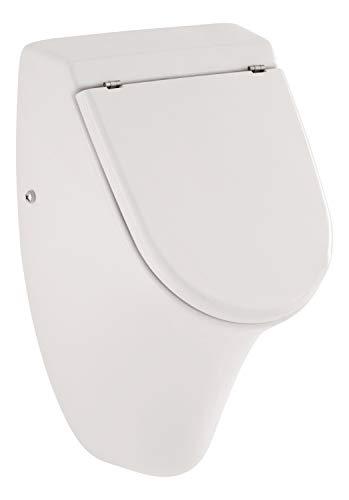 jaDe Urinal Set mit Deckel, weiß