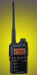 VX-3 STANDARD(スタンダード) 144/430MHz FMデュアルバンドトランシーバー 3W