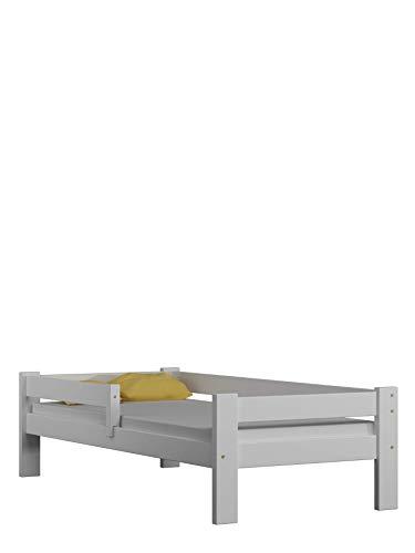 Children's Beds Home Letto Singolo in Legno massello - Salice Senza cassetti Senza Materasso Incluso...