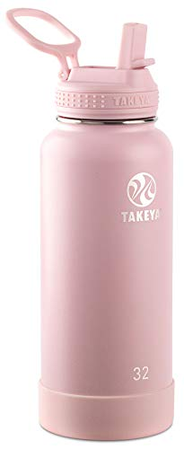 Takeya Actives Insulated Stainless Steel Water Bottle with...
