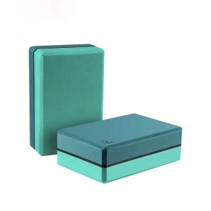 Next Gen Products Yoga Block Brick Eva Foam High Density Pack of 2, to Support Improve Strenght Aid Balance Flexibility Deepen Poses Non Slip - Assorted Colour