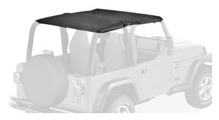 Safari-style attaches directly to sport bars for a super-clean look with no straps to the rear tub Reinforced edges help eliminate flapping, help prevent fabric fatigue Premium Supertop fabric for color-stable durability, resists stains and mildew In...