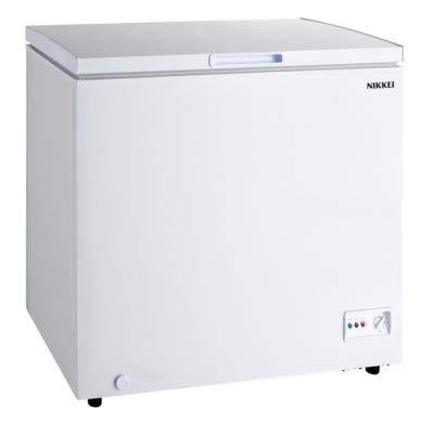 Nikkei INCO250X Congelatore a Pozzetto, libera installazione, 252 litri, Classe A+