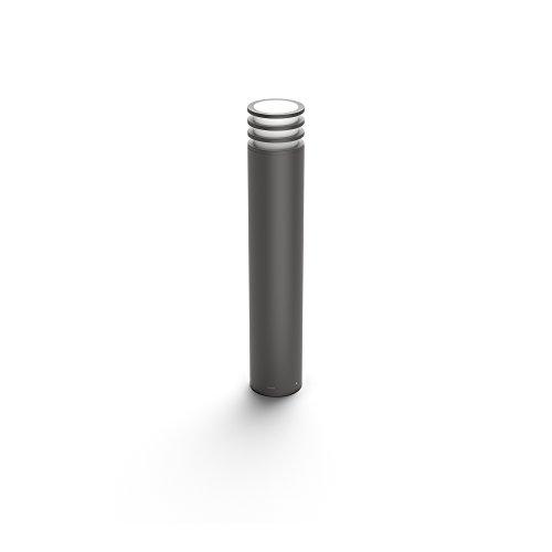 Philips Hue LED Wegeleuchte Lucca für den Aussenbereich, dimmbar, warmweißes Licht, steuerbar via App, kompatibel mit Amazon Alexa (Echo, Echo Dot)