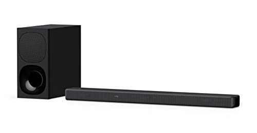 Sony HT-G700 3.1ch 4K Dolby Atmos/DTS:X Soundbar for TV with Wireless subwoofer, 3.1ch Home Theater System (400W, Surround Sound,Bluetooth Connectivity, HDMI & Optical Connectivity, 4k HDR) - Black