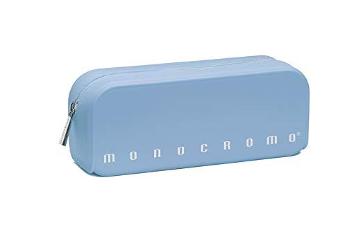 Pigna Monocromo Astuccio formato Bustina in Silicone, Azzurro Pastel