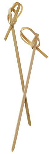"""Perfectware - BambooKnot4-300ct Bamboo Knot 4-300ct 4"""" Bamboo Knot Picks (Pack of 300)"""