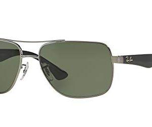 Ray-Ban Men's Rb3483 Square Metal Sunglasses 8