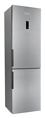 Hotpoint LH8FF2OA Libera installazione 301L A++ Argento frigorifero con congelatore, Senza...