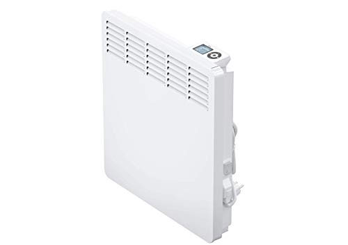 AEG Wandkonvektor WKL 1005 für ca. 10 m², 1000 W, 5-30 °C, wandhängend, LC-Display, Wochentimer, Metall, Ökodesign 2018, 236533