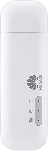 Product Image 1: HUAWEI E8372h-320 LTE/4G – Chiavetta USB per Wi-Fi, 150 Mbps, sbloccata, per l'utilizzo con tutte le schede SIM, colore: bianco Modello 2020. Si possono collegare 16 dispositivi wireless.