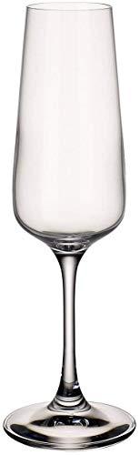 Villeroy & Boch Ovid Flte Bicchiere da Champagne, 250 ml, Cristallo, Set 4 Pezzi