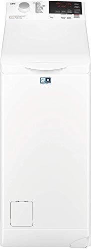 AEG L6TBG621 Lavatrice a Carica dall'Alto, 6 kg, 1200 Giri/Min, 56 Decibel, Bianco