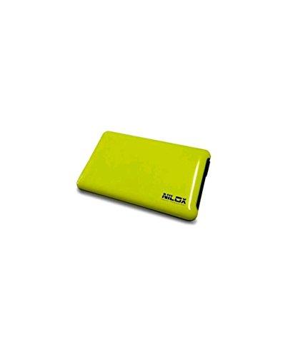 Nilox - Case Esterno Box Vuoto per Hard Disk, USB 3.0, Giallo