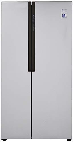 Haier 565 L Inverter Frost-Free Side-By-Side Refrigerator (HRF-619SS, Silver)