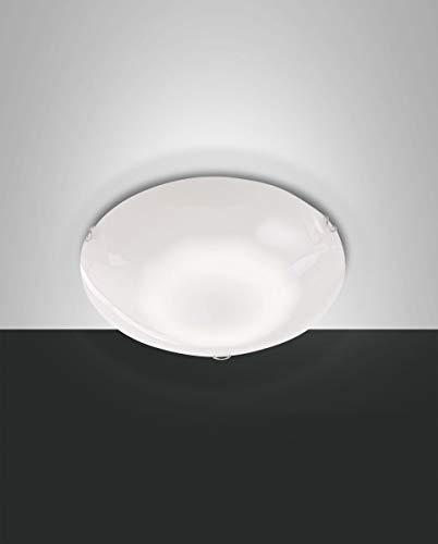 FABAS LUCE 3422-61-102 PLAFONIERA OSTUNI 12W 1080Lm WARM WHITE BIANCA :30 cm