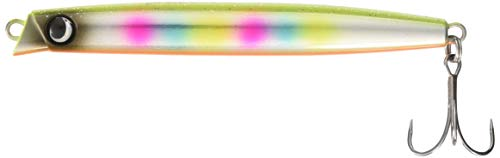 JUMPRIZE(ジャンプライズ) ミノー 飛びキング105HS 105mm 44g バナナフラッシュレインボー #09 ルアー
