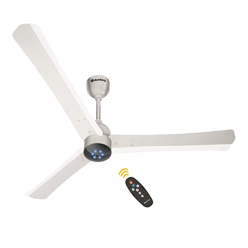 Atomberg Renesa+ 1400mm BLDC motor Energy Saving Ceiling Fan with Remote Control | Pearl White, 1400