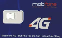 【mobifone】ベトナムプリペイドSIM 30日間 通話付き! 4G/3Gデータ通信6GB