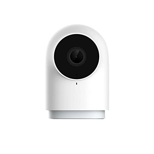 Aqara G2H (EU) Smart Home Kit ZigBee 3.0 Gateway Smart IP Camera visione notturna Security Indoor Cam Telecamera di sorveglianza 140° Bianco