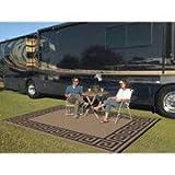 Patio Mats 9' x 12' Reversible RV, Indoor/Outdoor Rug, Camping Mat